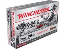 Winchester 7mm-08 Ammunition Deer Season XP X708DS 140 Grain Extreme Point 20 rounds