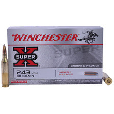Winchester 243 Super-X X243 80 gr JSP 20 rounds
