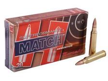 Hornady 5.56x45mm Superformance Match H81264 75 gr BTHP 20 rounds