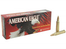 Federal 223 Rem Ammunition American Eagle AE223G 50 Grain Jacketed Hollow Point 20 rounds