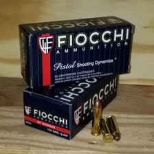 Fiocchi 357 Mag Ammunition F357D 125 Grains Jacketed Hollow Point 50 Rounds