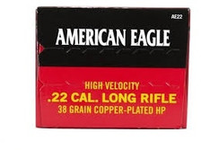 Federal American Eagle 22LR 38gr High Velocity AE22 40 rounds