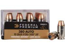 Federal 357 Magnum Hydra-Shok PD357HS2H Low Recoil 130 gr