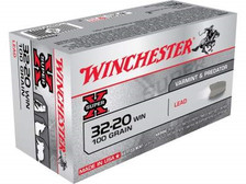 Winchester 32-20 Ammunition X32201 100 Grain Lead Flat Nose 50 rounds