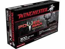 Winchester 300 Winchester Magnum Ammunition X30WM1BP 150 Grain Protected Hollow Point 20 rounds