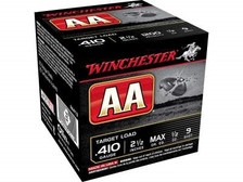 """Winchester 410 Bore AA Target AA419 2-1/2"""" 1/2 oz #9 Shot 1200fps 250 rounds"""