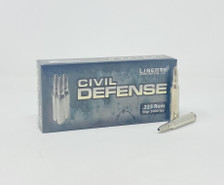 Liberty 223 Rem Ammunition Civil Defense LACD223019 55 Grain Fragmenting Hollow Point Lead-Free 20 Rounds