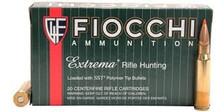 Fiocchi 308 Winchester Extrema Ammunition FI308HSA 150 Grain Polymer Tip 20 Rounds