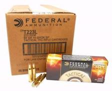 Federal 223 Remington Ammunition Tactical Rifle Urban T223L Hi-Shok 64 Grain Soft Point 20 rounds