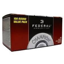 Federal 9mm Ammunition Champion WM51991 115 Grain Full Metal Jacket 100 Rounds