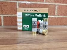 "Sellier & Bellot 12 Gauge Ammunition SB12BSI 2-3/4"" 1 Buckshot 12 Pellets 1213fps 10 Rounds"