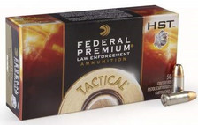Federal 9mm HST Tactical P9HST1 124 gr JHP 50 per box