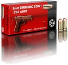 Geco 380 Auto Ammunition GE270540050 95 Grain Full Metal Jacket 50 Rounds