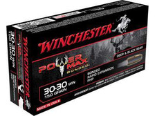 Winchester 30-30 Power Max X30306BP 150 gr Bonded Rapid Expansion PHP 20 rounds