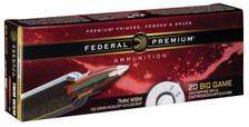 Federal 7mm WSM Ammunition Vital-Shok P7WSMA1 160 Grain Nosler AccuBond 20 Rounds