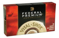 Federal 7mm WSM Ammunition Vital-Shok P7WSMTT2 140 Grain Trophy Bonded Tip 20 Rounds