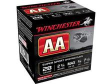 "Winchester 28 Gauge Ammunition AA Super Sport AASC287 2-3/4"" 7.5 Shot 3/4oz 1300fps 250 Rounds"