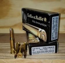 Sellier & Bellot 5.6x52R Ammunition SB5652RA 70 Grain Soft Point 20 Rounds
