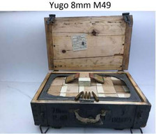 Yugo 8mm M49 Ammunition AM1238B 198 Grain Full Metal Jacket Lead Core Crate of 900 Rounds