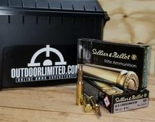 Sellier & Bellot 6.5 Creedmoor Ammunition SB65B 131 Grain Soft Point Case of 500 Rounds