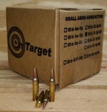 On Target 223 Rem Ammunition M855 SS109 Penetrator Steel Core Full Metal Jacket 62 Grain Bulk Pack 500 Rounds
