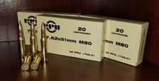 Prvi PPU 7.62x51mm NATO Ammunition M80 PPN762 145 Grain Full Metal Jacket 500 Rounds
