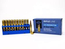 Prvi PPU 223 Rem Ammunition PP223S 55 Grain Soft Point 20 Rounds