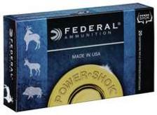 Federal 35 Rem Ammunition Power-Shok 35A 200 Grain Jacketed Soft Point 20 Rounds
