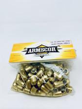 Armscor 40 S&W Reloading Bullets 52380 180 Grain Full Metal Jacket 100 Pieces