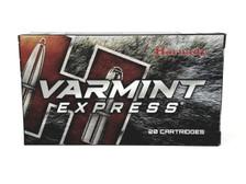 Hornady 224 Valkyrie Ammunition Varmint Express 81531 60 Grain V-Max 20 Rounds