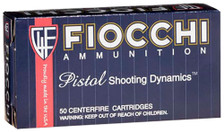 Fiocchi 38 Special Ammunition Shooting Dynamics 38C 158 Grain Lead Round Nose 50 Rounds