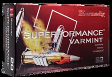 Hornady 22-250 Rem Ammunition Superformance Varmint 8334 35 Grain NTX Ballistic Tip 20 Rounds