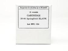 Prvi PPU 30-06 Ammunition PPB3006 Blanks 15 Rounds