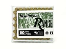 Remington 22 LR Ammunition Range T1500 40 Grain Lead Round Nose 100 Rounds