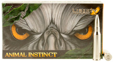 Liberty 308 Win Ammunition Animal Instinct LAHAC308045 100 Grain Copper Hollow Point 20 Rounds