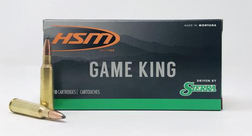 HSM 250 Savage Ammunition 250Sav3N 100 Grain SBT GameKing 20 Rounds