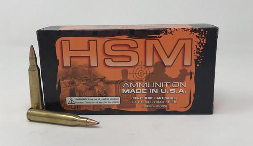 HSM 220 Swift Ammunition 220Sw4N 55 Grain Soft Point 20 Rounds