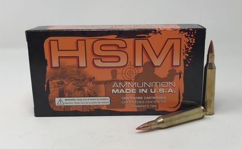 HSM 220 Swift Ammunition 220Sw3N 55 Grain V-Max 20 Rounds