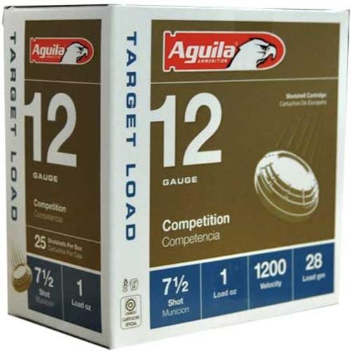 """Aguila 12 Gauge Ammunition 1CHB1304CASE 2 3/4"""" 1oz 7.5 Shot 1200 Fps Case 250 Rounds"""