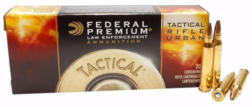 Federal 223 Rem Ammunition FT223T 55 Grain Tactical Tru Ballistic Tip 20 Rounds