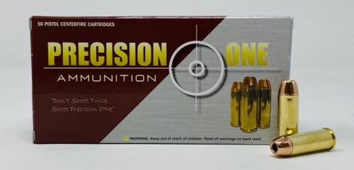 Precision One 45 Colt Ammunition PONE580 300 Grain XTP Hollow Point 50 Rounds