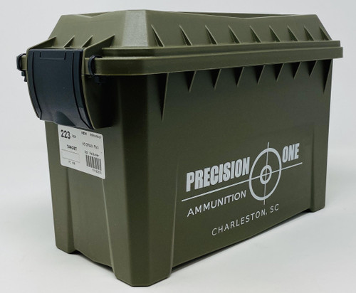 Precision One 223 Remington PONE166 Factory New 55 Grain Full Metal Jacket Bunker 500 Rounds