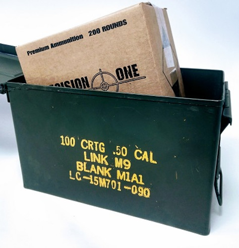 Bundle Precision One 300 AAC Blackout Ammunition *Reman* CASE Inside US50CAN 200 Rounds
