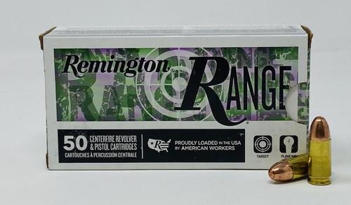 Remington 9mm Luger Ammunition RT9MM3 115 Grain Full Metal Jacket 50 Rounds