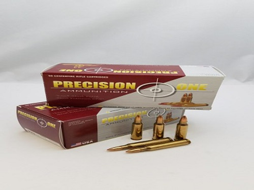 Precision One 223 Rem Ammunition PONE164 55 Grain Factory New Full Metal Jacket 50 rounds