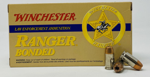 Winchester 45 Gap Ammunition RA45GB Ranger 230 Grain Bonded Jacketed Hollow Point 50 Rounds