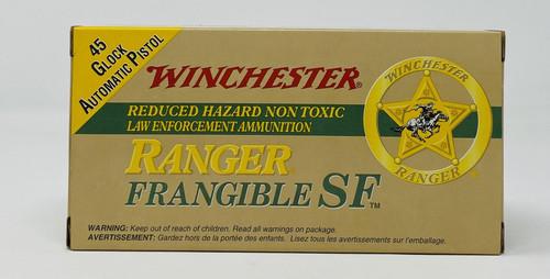 Winchester 45 GAP Ammunition Ranger RA45GSF 175 Grain Sinterfire Frangible Lead Free 50 Rounds