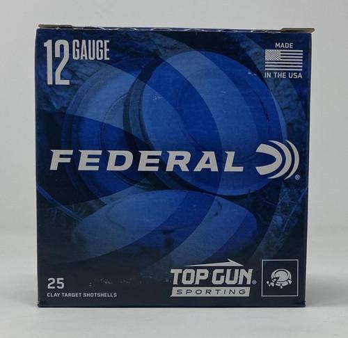 Federal 12 Gauge Ammunition 2 3/4 1OZ 1300 FPS 8 Shot TGSH128 CASE 250 Rounds