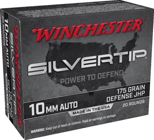 Winchester 10mm Auto Ammunition W10MMST 175 grain ST Hollow Point SX 20 Rounds