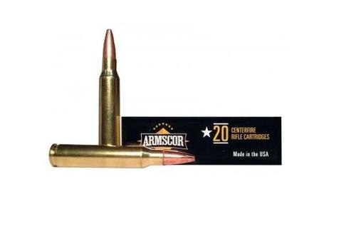 Armscor 223 Rem Ammunition ARMFAC2234N 62 Grain Soft Point 20 Rounds